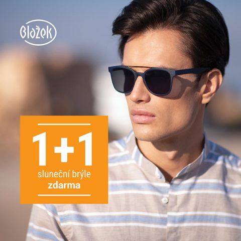 1+1 brýle zdarma v obchodě Blažek