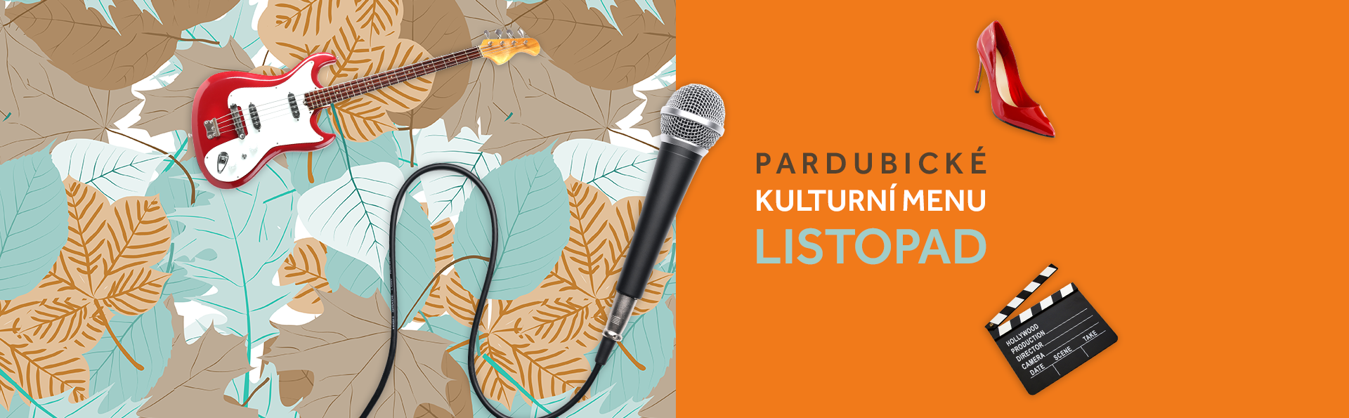 Pardubické kulturní menu listopad