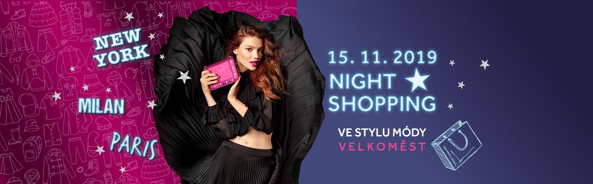 Night shopping ve stylu světových velkoměst v PALÁCI Pardubice