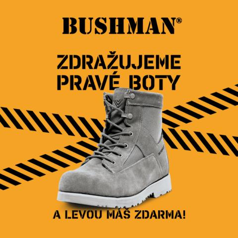 Bushman zdražuje