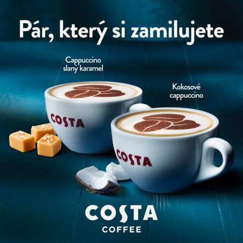 Novinky v Costa Coffee