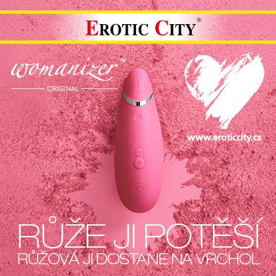 Valentýnský dárek v Erotic City: Womanizer