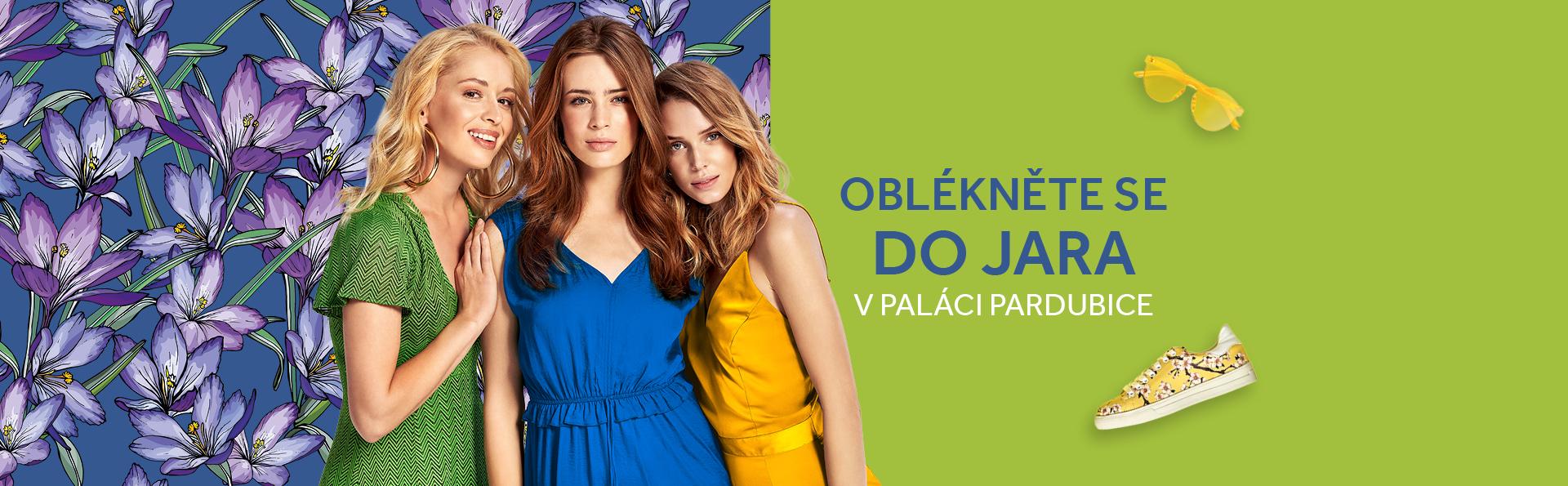 Oblékněte se do jara v PALÁCI Pardubice