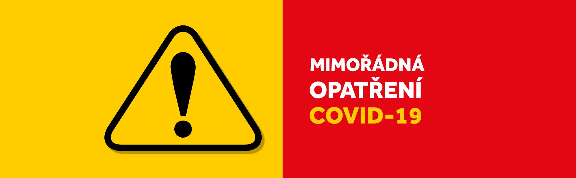 Mimořádná opatření COVID-19