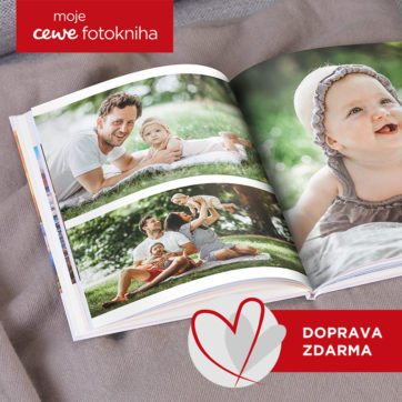 CEWE FOTOKNIHA ve Fotolabu
