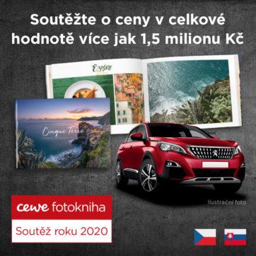 Vyhrajte s CEWE FOTOKNIHOU ceny za více než 1,5 milionu Kč