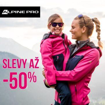 Letní vlna slev v ALPINE PRO: slevy až 50 %