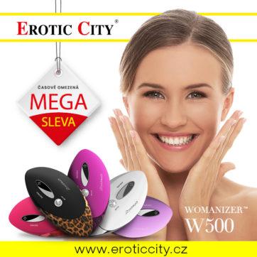 Sleva na Womanizer v Erotic City