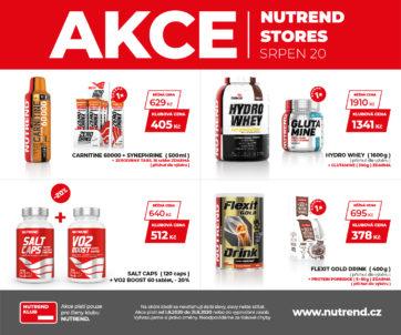 Srpnové akční zboží v NUTREND store
