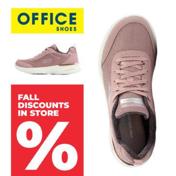 Podzimní slevy v Office Shoes