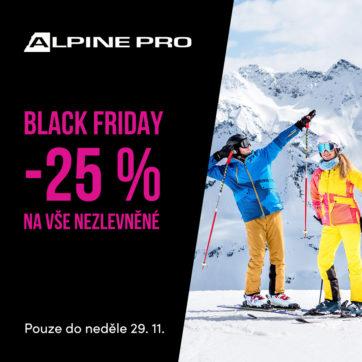 Black Friday sleva v ALPINE PRO