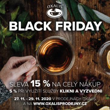 Užijte si Black Friday v OXALIS
