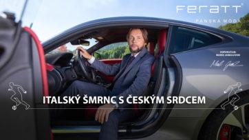 Marek Jankulovski je teď i reprezentant značky Feratt