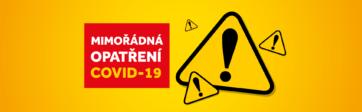 Mimořádná opatření v PALÁCI Pardubice od 27. prosince