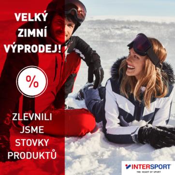 Zimní výprodeje Intersport