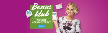 Jste už členy našeho Bonus klubu?