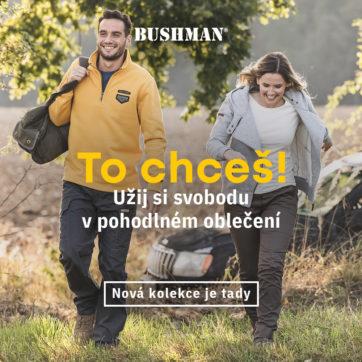 Nová kolekce Bushman