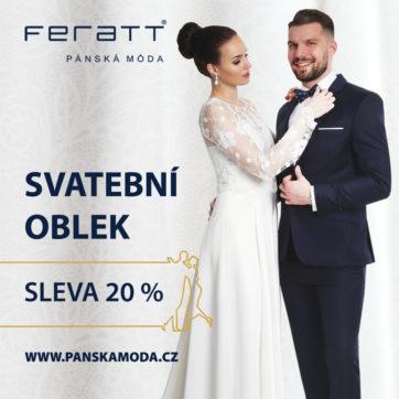 Feratt: Svatební oblek se slevou 20 %