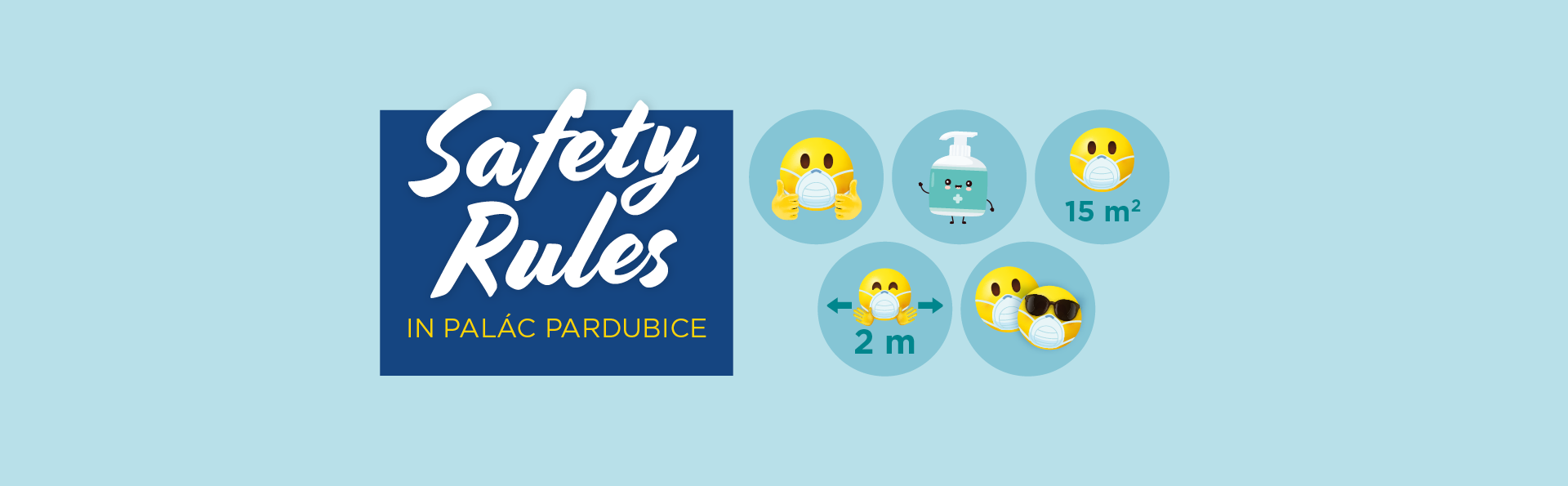 Safety Rules in PALÁC Pardubice