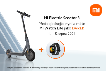 Xiaomi: Předprodej Mi Electric Scooter 3