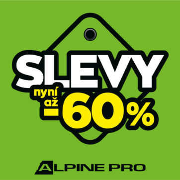 SLEVY AŽ -60 % v ALPINE PRO