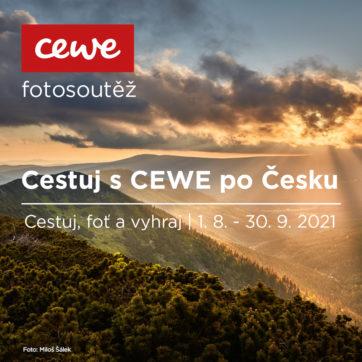 Fotosoutěž Cestuj s CEWE po Česku