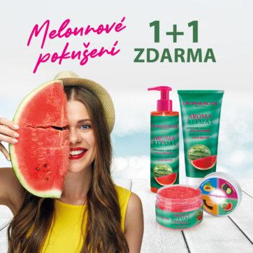 Akce 1 +1 na produkty Aroma Ritual vodní meloun v Dermacol