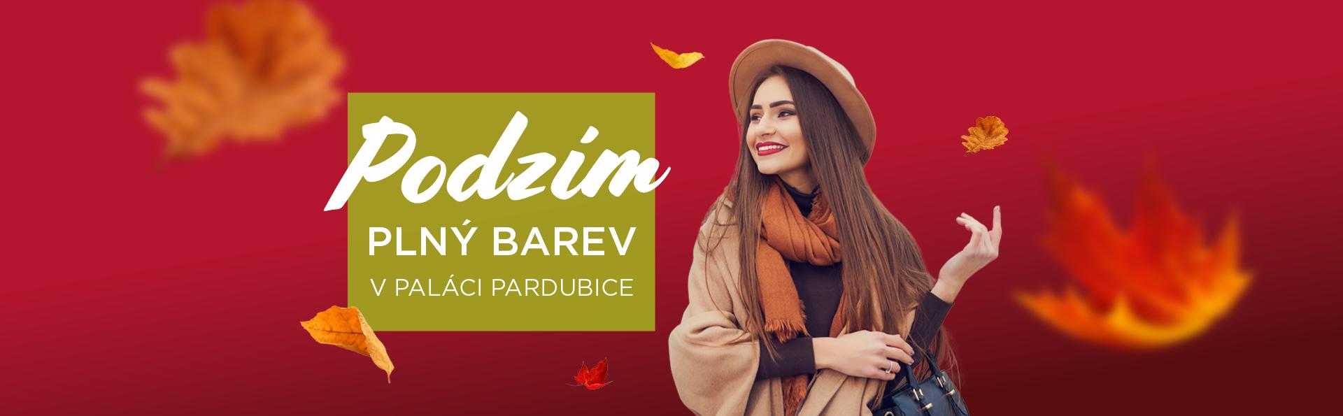 Podzim plný barev v PALÁCI Pardubice