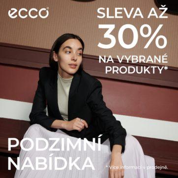 Až 30% slevy v ECCO