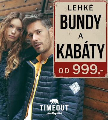 Bundy a kabáty od 999 Kč v TimeOut