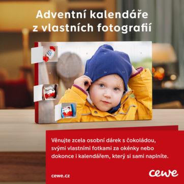 CEWE Fotolab: adventní kalendář s vlastní fotkou